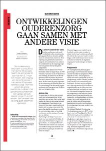Afbeelding van artikel zoals gepubliceerd in tijdschrift TVZ