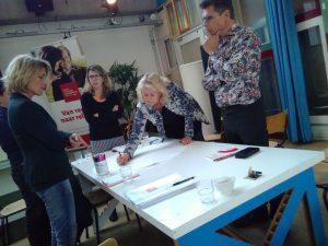 Uitwisseling deelnemers actie-onderzoek