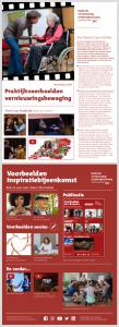 Voor- en achterpagina publicatie